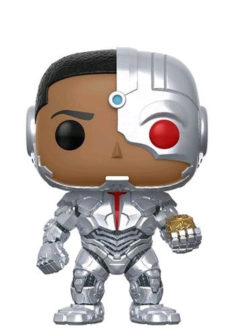 Justice League (2017) - Cyborg and Mother Box US Exclusive Pop! Vinyl Figure - Pre-Order
