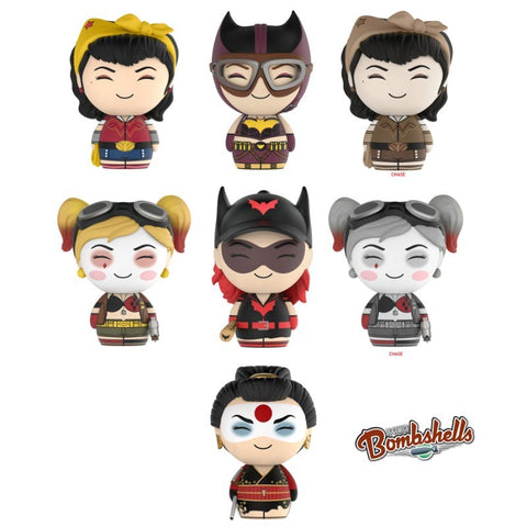 DC Bombshells - Set of 5 Dorbz Vinyl Figures