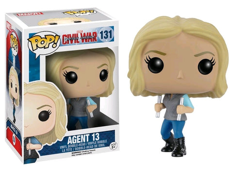 Captain America 3: Civil War - Agent 13 Pop! Vinyl Figure