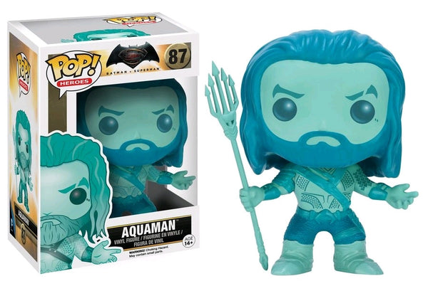 Batman Vs Superman: Dawn of Justice - Aquaman Blue Pop! Vinyl Figure