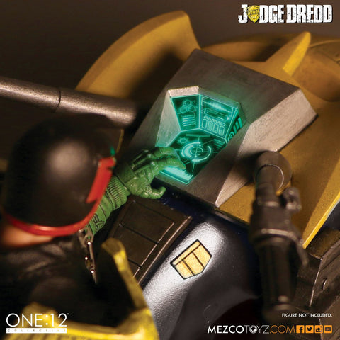 Judge Dredd - Lawmaster One:12 Motorcycle Action Figure Accessory