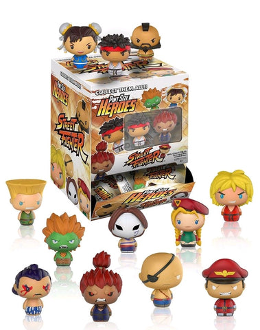 Street Fighter - Pint Size Heroes: Sealed Case Of 24 Blind Bags - Pre-Order