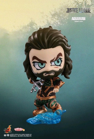 Justice League (2017) - Aquaman Cosbaby Hot Toys Figure - Pre-Order