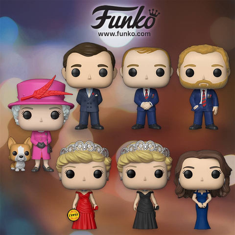 The Royal Family - Princess Diana Pop! Vinyl Figure (With Chance Of A Chase Variant) - Pre-Order