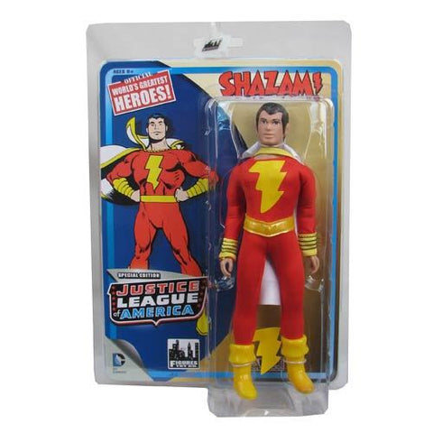 Justice League - 8 Inch Retro Action Figures - Shazam