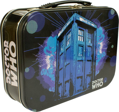 Doctor Who - TARDIS Explosion Retro Lunchbox