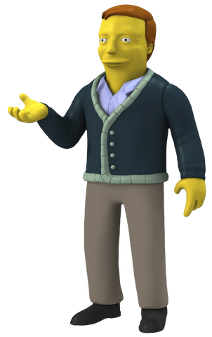 The Simpsons - 25th Anniversary Figure - Adam West