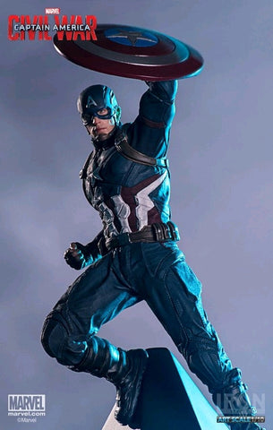 Captain America 3: Civil War - Captain America 1:10 Scale Statue