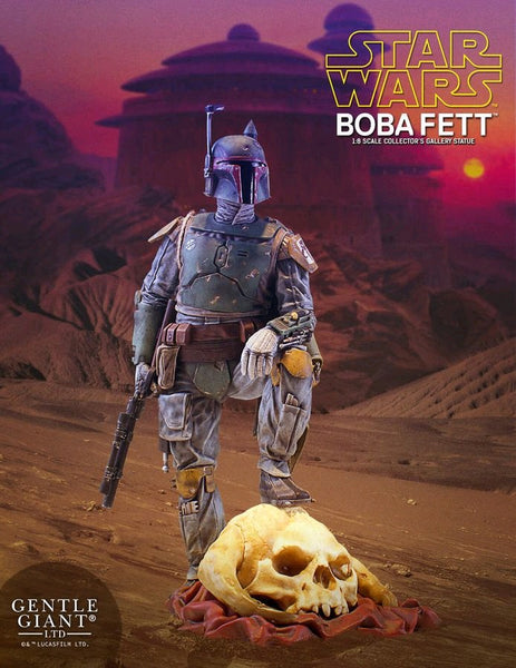 Star Wars - Boba Fett 1:8 Scale Collector's Gallery Statue - Pre-Order