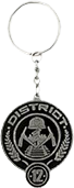 The Hunger Games - District 12 Metal Keychain