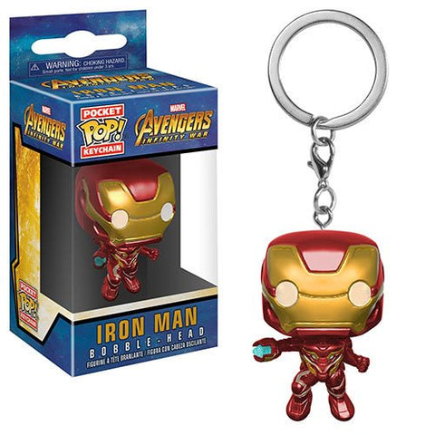 Avengers: Infinity War - Iron Man Pocket Pop! Key Chain - Pre-Order