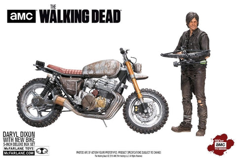 "The Walking Dead - Daryl Dixon with New Bike 5"" Action Figure"