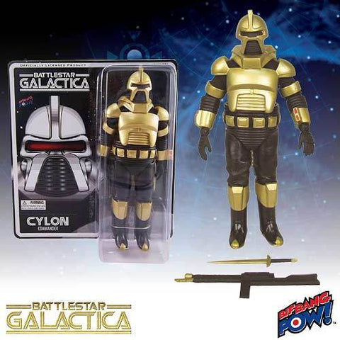 Battlestar Galactica - Gold Cylon Action Figure - Loose (No Packaging)