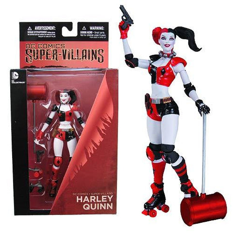 Batman - Roller Derby Harley Quinn Action Figure