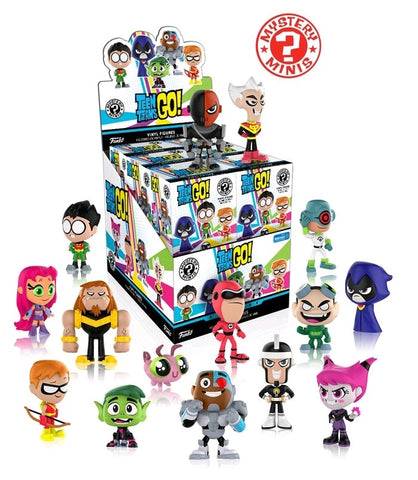 Teen Titans Go! - Case of 12 Walmart US Exclusive Mystery Mini Blind Boxes - Pre-Order