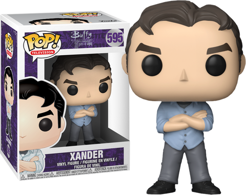 Buffy the Vampire Slayer - 20th Anniversary Xander Pop! Vinyl Figure (With Chance Of A Chase Variant) - Pre-Order
