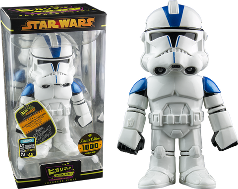 Star Wars - 501st Clone Trooper Japanese Hikari Vinyl Figure  (2015 Summer Convention Exclusive)