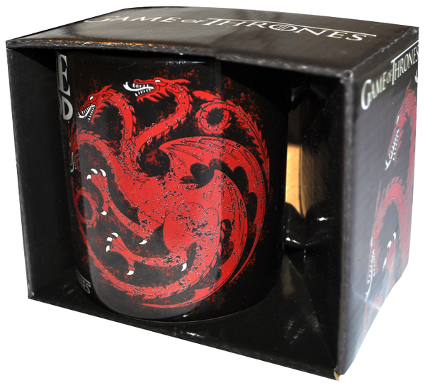 Game of Thrones - Targaryen Fire & Blood Mug