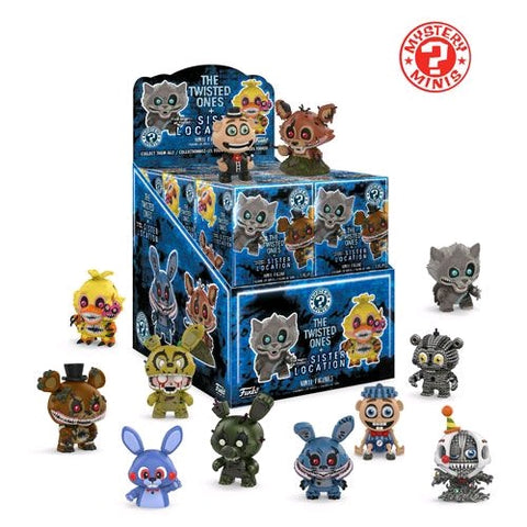 Five Nights at Freddy's: Twisted Ones - Mystery Mini Blind Box Case of 12 Figures - Pre-Order