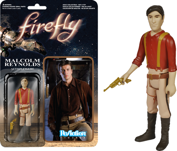 Firefly - Malcolm Reynolds ReAction Figure