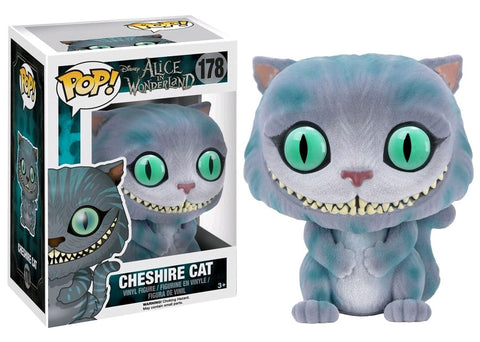 Alice In Wonderland (Live Action) - Cheshire Cat Flocked Pop! Vinyl Figure