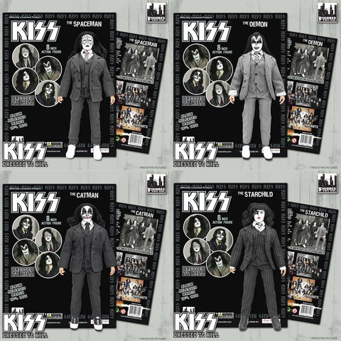 Kiss - Dressed To Kill Action Figure Set