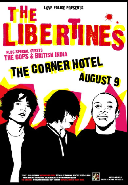 The Libertines - Melbourne 2003 Limited Edition Print
