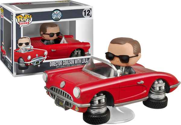 Agents of S.H.I.E.L.D. - Lola with Agent Coulson Pop! Vinyl Figure Ride