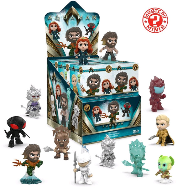 Aquaman Movie - Vinyl Figure Mystery Minis: Case Of 12 Blind Boxes - Pre-Order