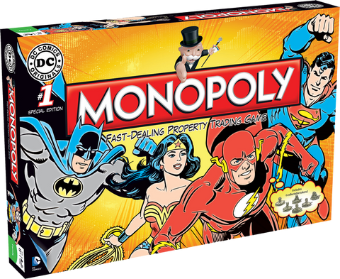 Monopoly - DC Comics Originals
