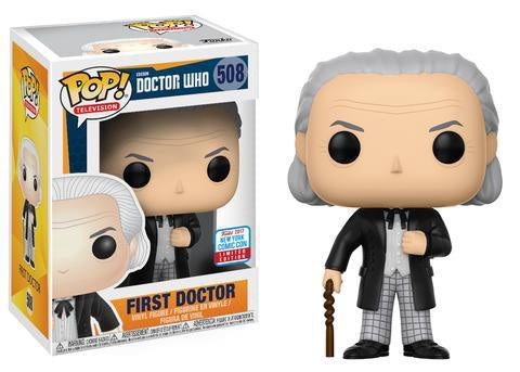 Doctor Who - First Doctor Pop! Vinyl Figure - NYCC 2017 Exclusive