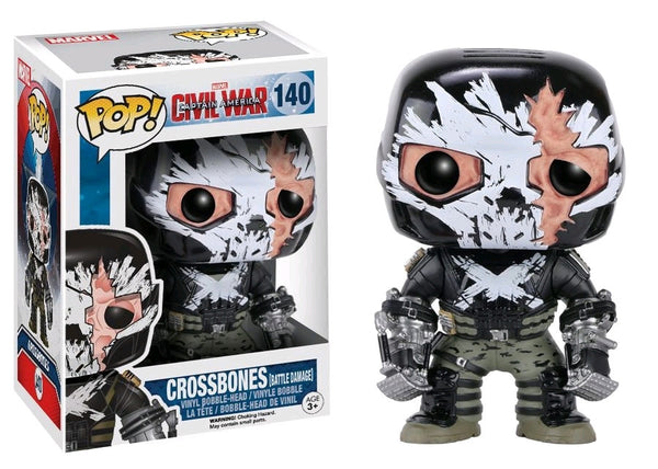 Captain America 3: Civil War - Crossbones Cracked Mask US Exclusive Pop! Vinyl Figure
