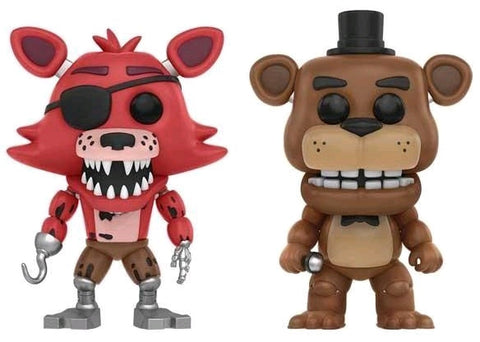 Five Nights at Freddy's - Freddy & Foxy US Exclusive Pop! Vinyl Figure 2-Pack - Pre-Order