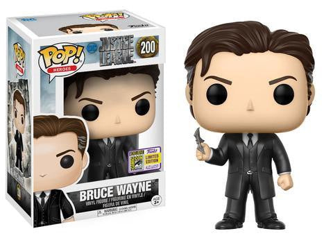 SDCC17 Exclusive - Justice League (2017) Bruce Wayne Pop! Vinyl Figure