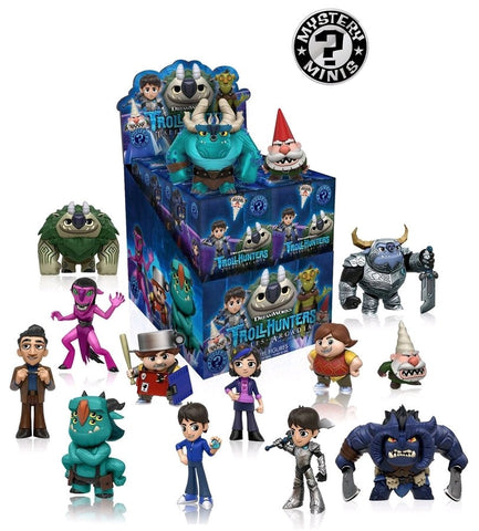 Trollhunters - Case of 12 Mystery Mini Blind Box Figures - Pre-Order