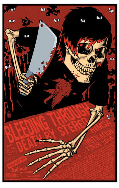 Bleeding Through - 2004 Limited Edition Print