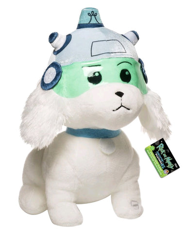 Rick and Morty - Snowball with Sound 12 Inch Plush Figure