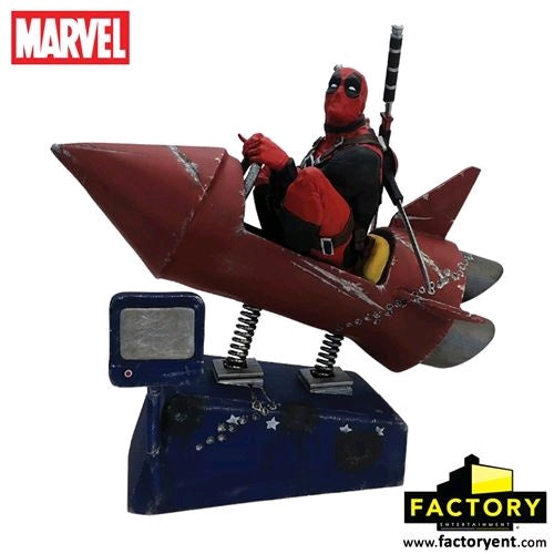 "Deadpool - Rocket Ride 10"" Premium Motion Statue"