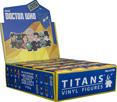 Doctor Who: The Rebel Time Lord - Titans Mystery Mini Blind Box Case of 20 Figures