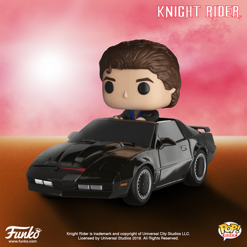 Knight Rider - Michael Knight with KITT Pop! Vinyl Figure Ride - Pre-Order
