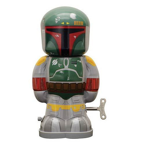 Star Wars - Boba Fett 7 1/2-Inch Windup Tin Toy