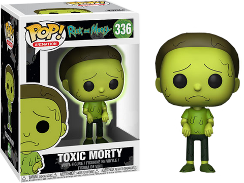 Rick and Morty - Toxic Morty US Exclusive Pop! Vinyl Figure