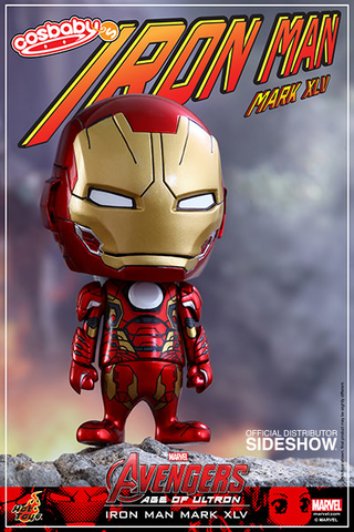 "Avengers 2: Age of Ultron - Iron Man Mark XLV 3.75"" Cosbaby Hot Toys Vinyl Figure"
