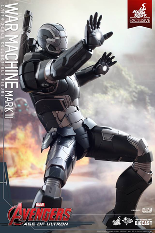 Avengers: Age of Ultron - War Machine Mark II 1:6 Scale Diecast Action Figure