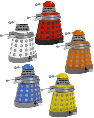 Doctor Who - Wind-Up Dalek 5-Pack Box Set