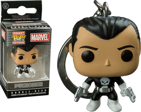 The Punisher - Punisher Pocket Pop! Keychain