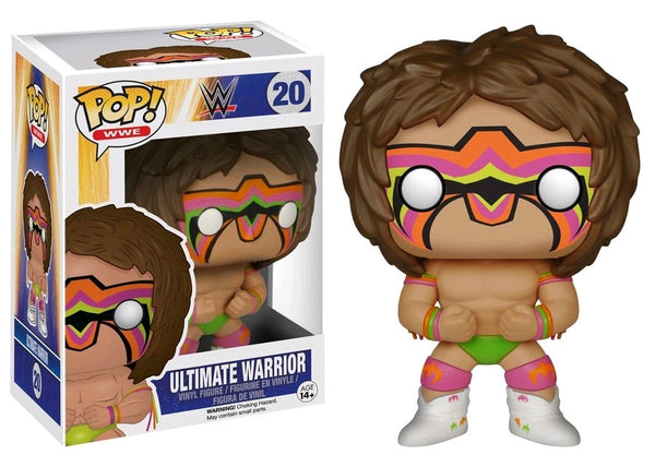 WWE - Ultimate Warrior Pop! Vinyl Figure