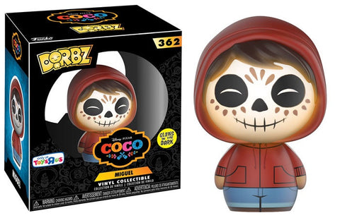Coco - Miguel Glow in the Dark Dorbz Vinyl Figure