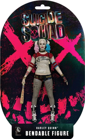 Suicide Squad - Harley Quinn Bendable Figure - Pre-Order