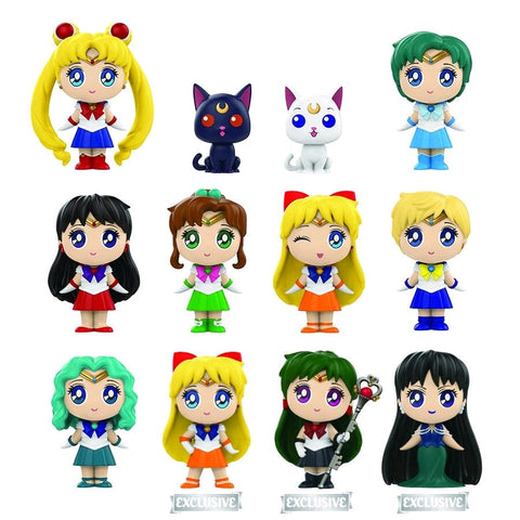 Sailor Moon - Gamestop Exclusive Mystery Mini Blind Boxes Case of 12 Figures - Pre-Order